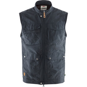 Fjällräven Travellers MT Vest Heren, dark navy